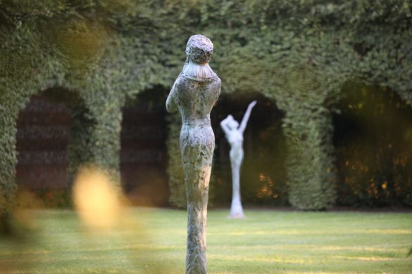 11éme biennale du jardin des sculptures consacrée à Volti