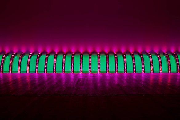 Jenny Holzer expose au Guggenheim de Bilbao