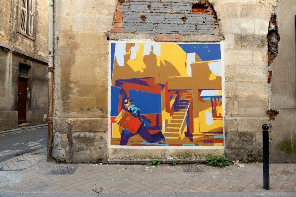 Bordeaux accueille l'artiste Rouge
