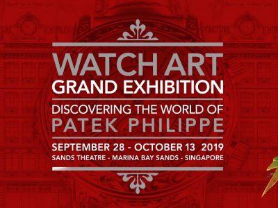 Patek Philippe s'expose à Singapour