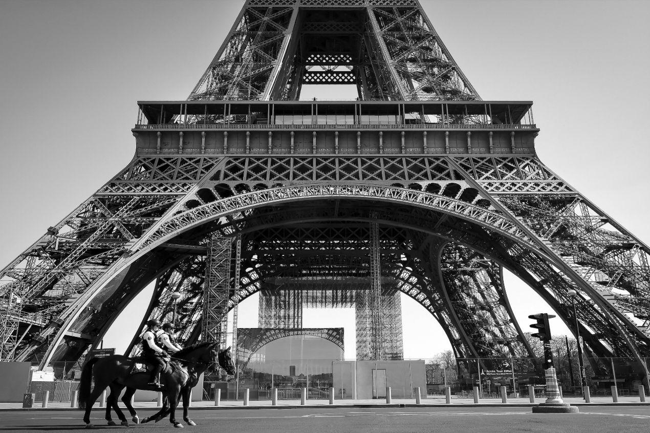 Paris déshabillé – Confinement 2020