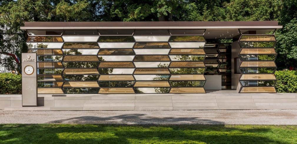 Le Pavillon Rolex ©Reto Albertalli
