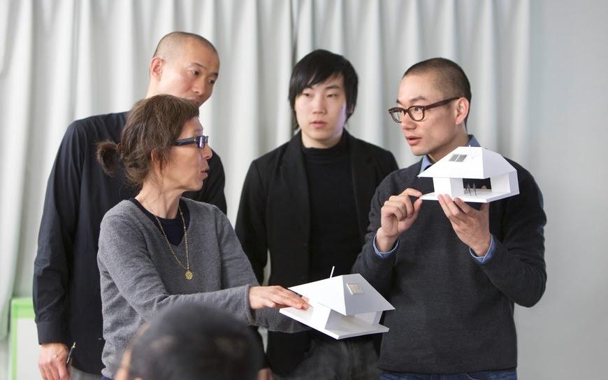 Kazuyo Sejima et Yang Zhao (2012‒2013) ©Rolex/Hideki Shiozawa